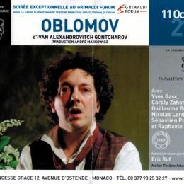 OBLOMOV, un chef d'oeuvre contemporain