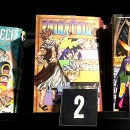 Les 5 plus grands succès des mangas