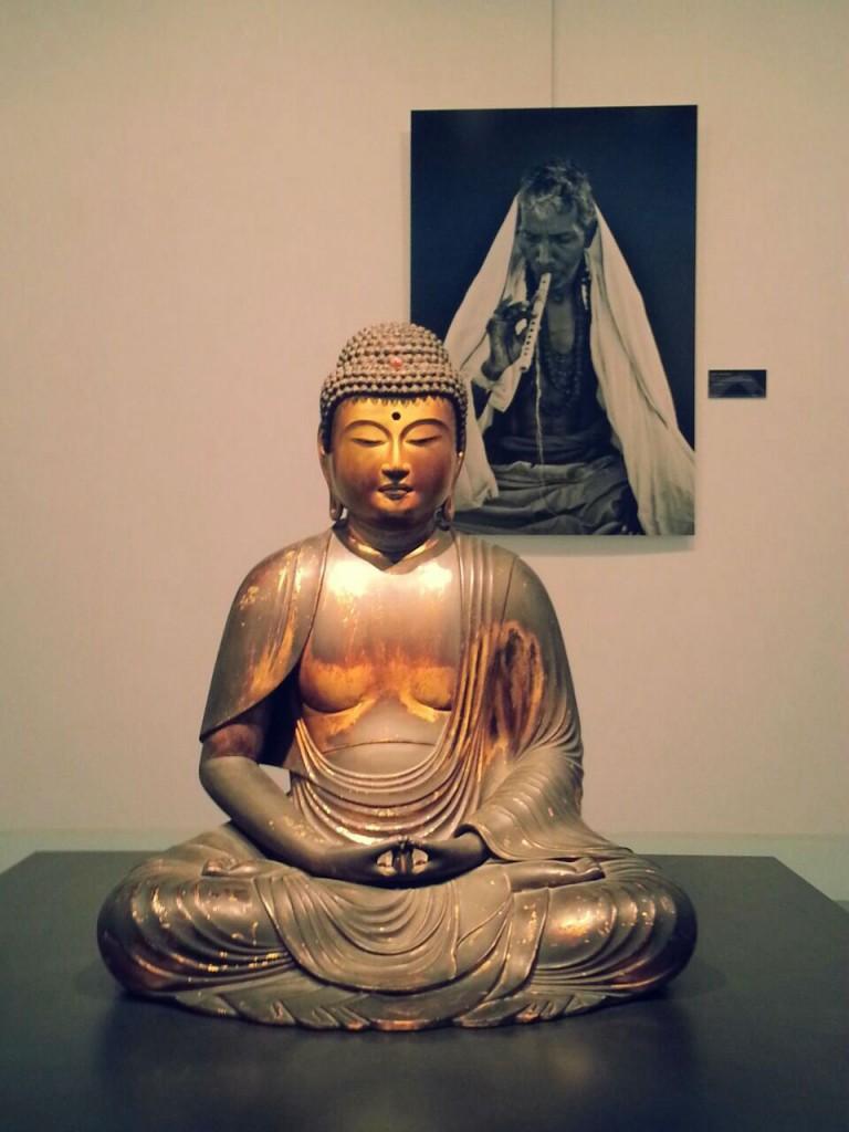 Sérénité et méditation au cœur de l'exposition