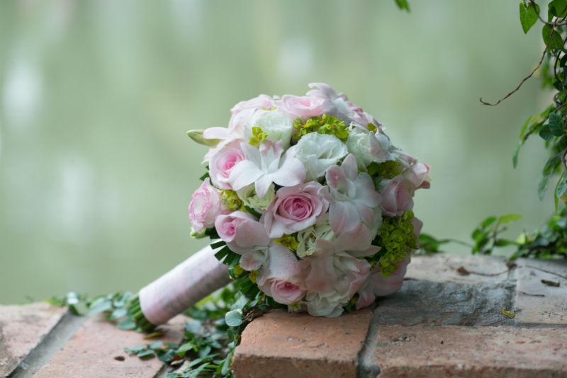 Bouquet mariage sublimé par le photographe